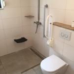 Aanpassing douche en toilet